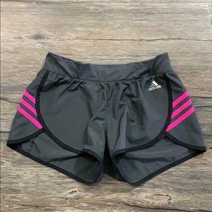 Adidas Climalite Running Shorts 3 Stripes